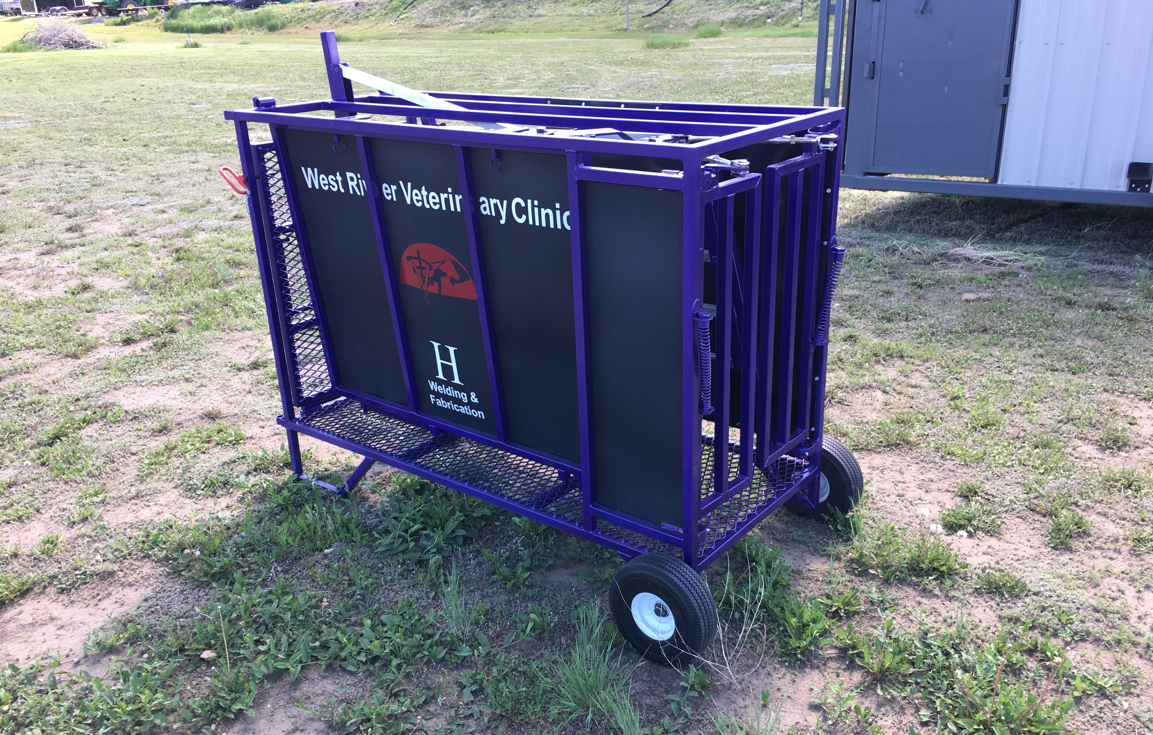 Portable Sheep Chute